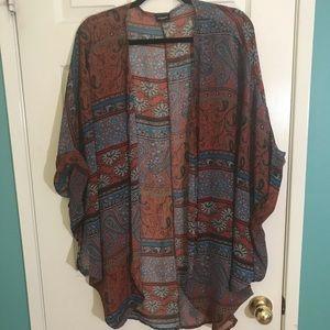 Aggie Sheer Kimono | One size